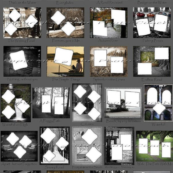 Sample Scrapbooking Page Templates 1